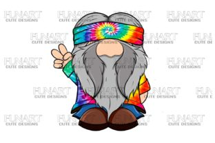 Hippie Gnome 2 Digital Design , PNG File Graphic Illustrations By Fundesings