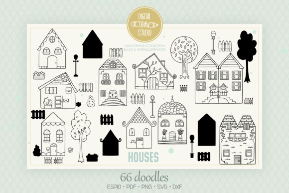 House, Home, City Building, Cottage Graphic Illustrations By Digital_Draw_Studio