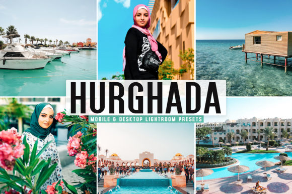 Print on Demand: Hurghada Pro Lightroom Presets Graphic Actions & Presets By Creative Tacos