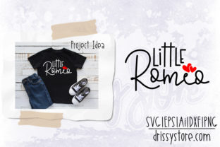 Little Romeo Graphic Crafts By DrissyStore