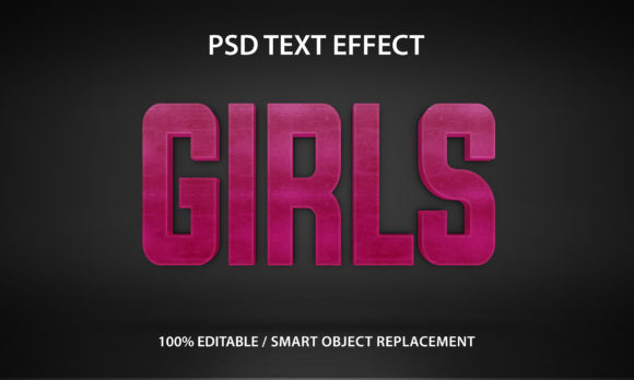 Text Effect Girls Premium Graphic Graphic Templates By yosiduck