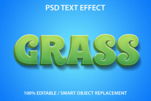 Text Effect Grass Premium Graphic Graphic Templates By yosiduck