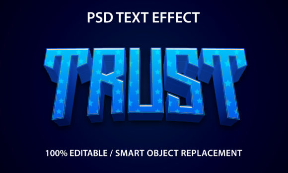 Text Effect Trust Premium Graphic Graphic Templates By yosiduck