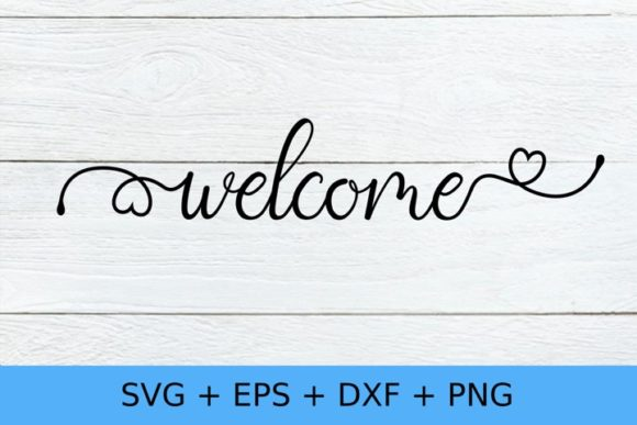 Welcome Graphic Crafts By Chamsae Studio