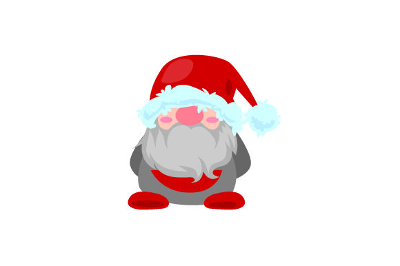 Santa Claus Gonk Gnome Designs & Drawings Craft Cut File By Creative Fabrica Crafts