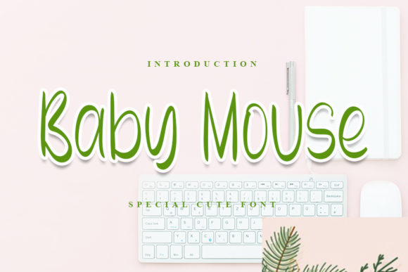 Print on Demand: Baby Mouse Display Font By Inermedia STUDIO