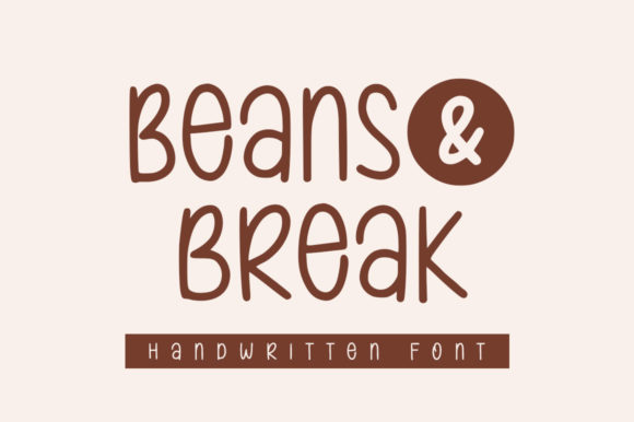 Print on Demand: Beans & Break Script & Handwritten Font By Graphix Line Studio