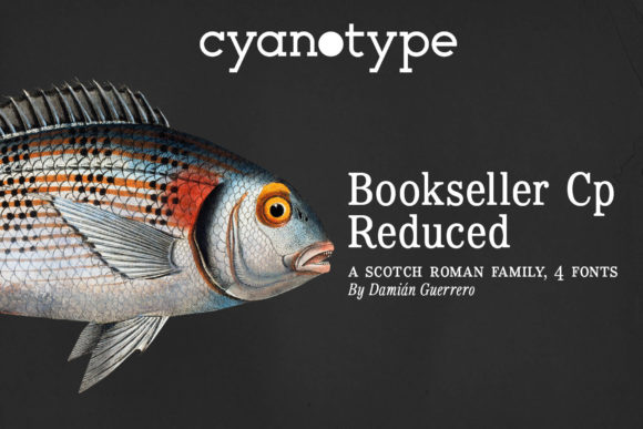 Print on Demand: Bookseller Cp Reduced Serif Font By cyanotype