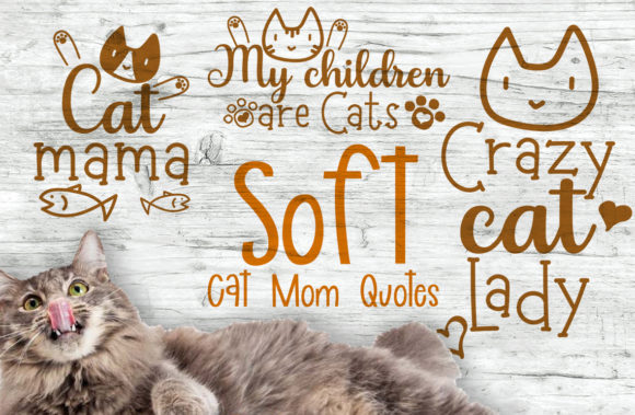 Cat Mom Quotes Graphic Crafts By Firefly Designs