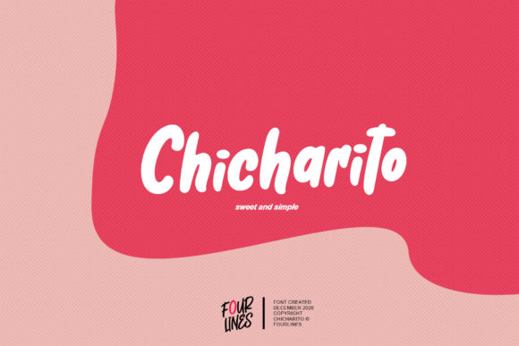 Print on Demand: Chicharito Display Font By Fourlines.design