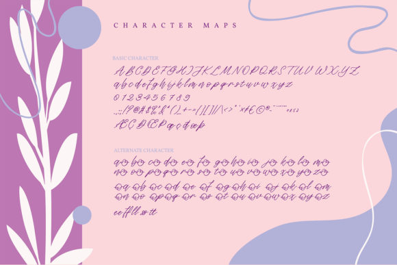 Deanica Font Preview