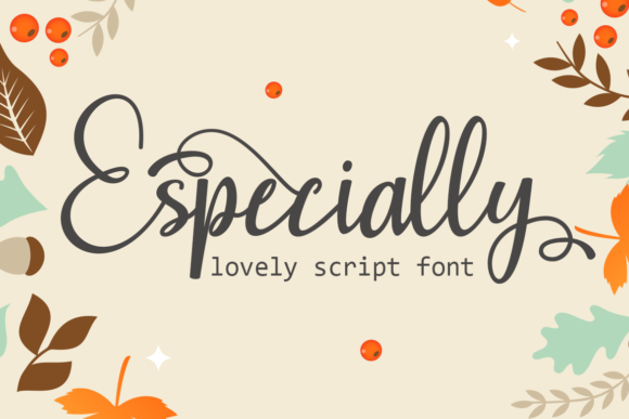 Print on Demand: Especially Script & Handwritten Font By Supersemar Letter