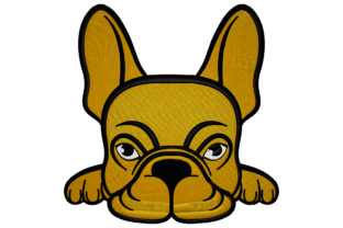 French Bulldog Dogs Embroidery Design By Digital Creations Art Studio