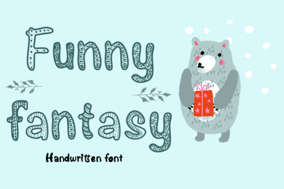 Print on Demand: Funny Fantasy Display Font By Temtemdesign