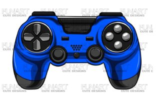 Gaming Controller 2 Graphic Illustrations By Fundesings