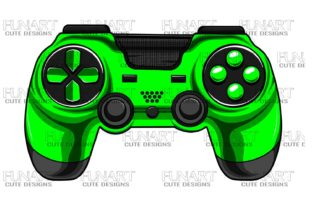 Gaming Controller 3 Graphic Illustrations By Fundesings