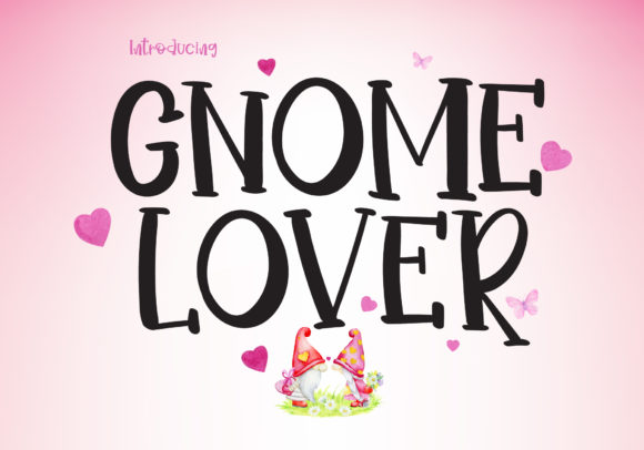 Print on Demand: Gnome Lover Display Font By BB Digital Arts