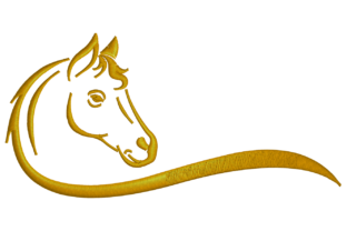 Horse Horses Embroidery Design By Digital Creations Art Studio