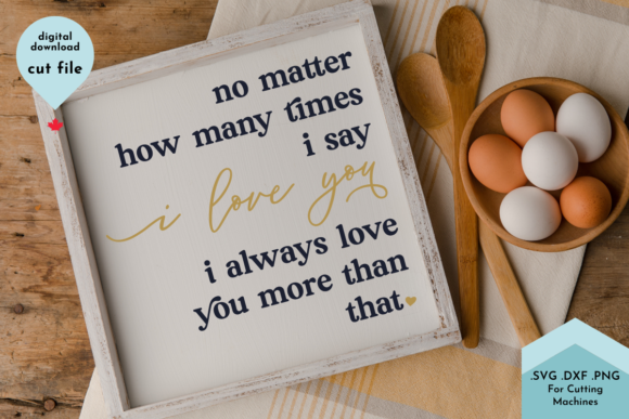 Print on Demand: I Love You More Than That - Valentine Graphic Crafts By Lettershapes