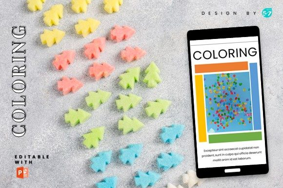 Instagram Story Template - Coloring Graphic Graphic Templates By 57creative