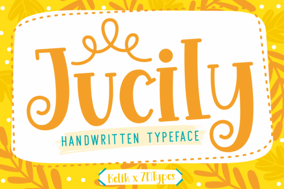 Print on Demand: Jucily Display Font By Kelik - 7NTypes