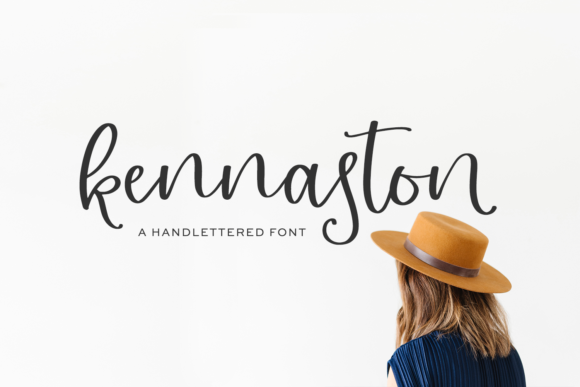 Print on Demand: Kennaston Script & Handwritten Font By BeckMcCormick