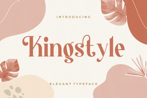 Print on Demand: Kingstyle Serif Font By CreatypeStudio