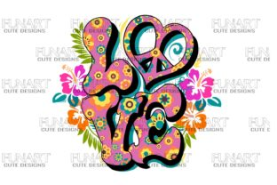 Love , Digital Design , Png  File Graphic Illustrations By Fundesings