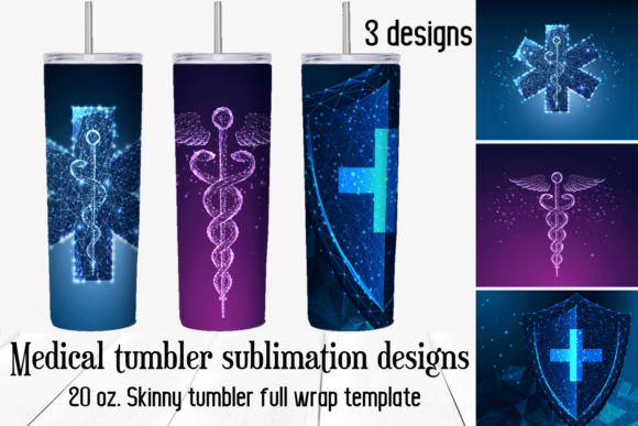 Medical Tumbler Sublimation Designs Graphic Crafts By inkoly.art
