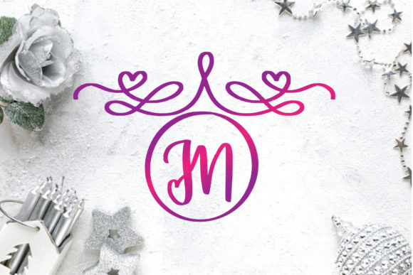 Print on Demand: Monogram Decorative Decorative Font By goodigital