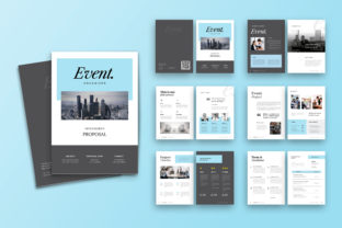 Print on Demand: Proposal Template Graphic Print Templates By uicreativenet