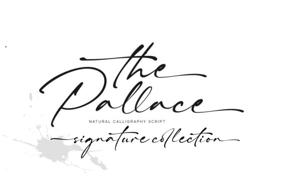 Print on Demand: The Pallace Script & Handwritten Font By Cititype