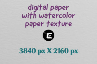 Print on Demand: Watercolor Paper Texture Graphic Backgrounds By grafikestelle