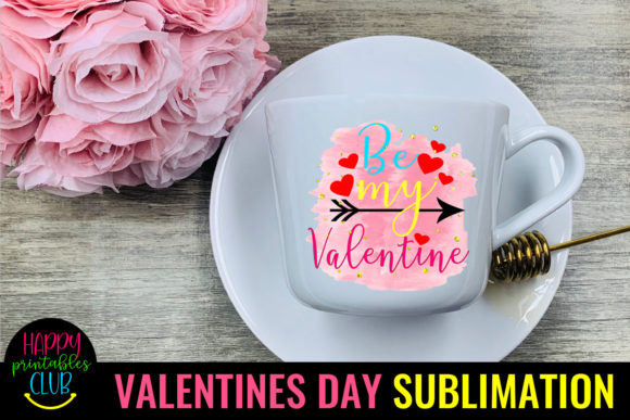 Be Mine Sublimation Valentines Day PNG Graphic Crafts By Happy Printables Club