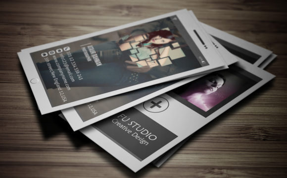 Business Card Template Graphic Print Templates By Pixelpick