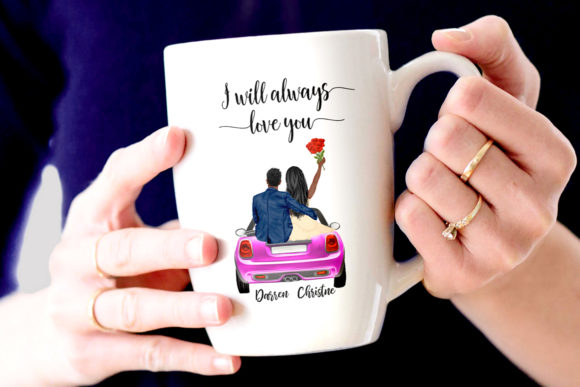 Couples Clipart Valentines Day Graphic Design Item