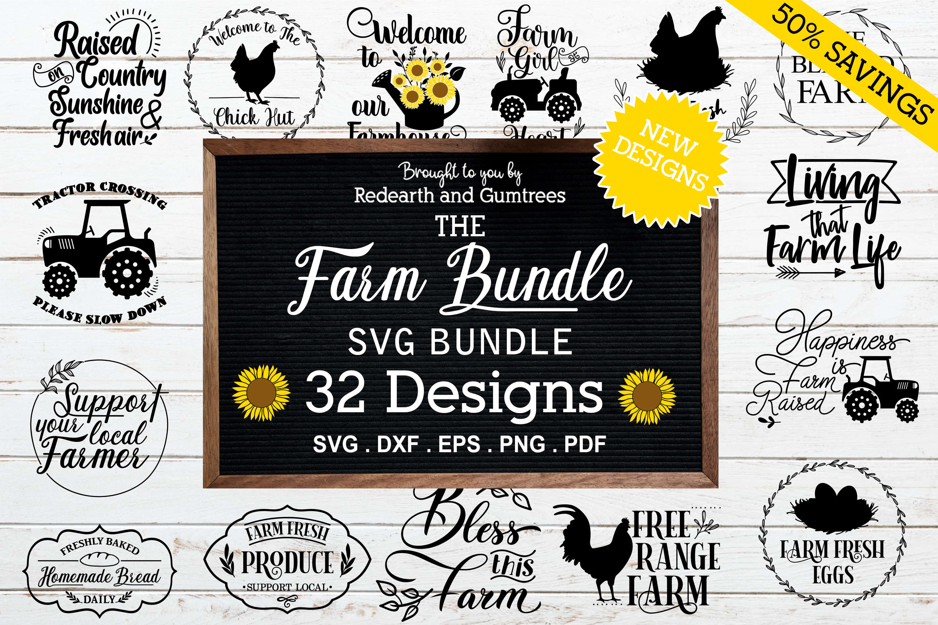 Farm Quotes and Monogram Sign Making Svg SVG File