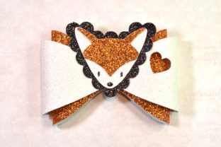 Fox Bow Template Graphic 3D SVG By ArtiCuties 1