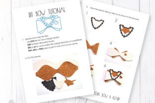 Fox Bow Template Graphic 3D SVG By ArtiCuties 3