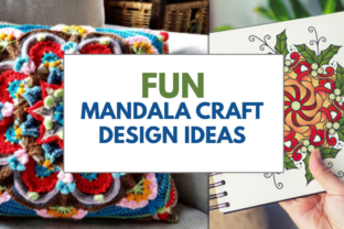 Fun Mandala Craft Design Ideas