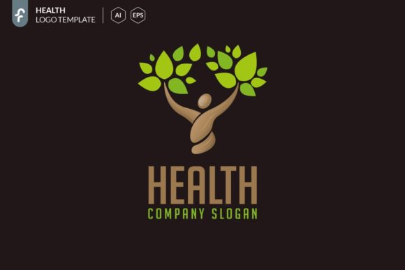 Health Logo Template Graphic Logos By ferart88