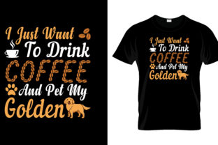 Print on Demand: I Just Want to Drink T Shirt Design Graphic Print Templates By merchbundle