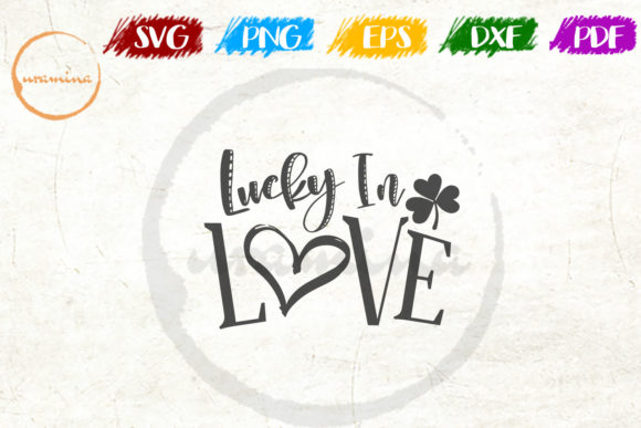 Print on Demand: Lucky in Love Graphic Crafts By Uramina