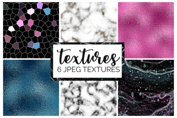 Print on Demand: Marble and Foil Texture Digital Papers Graphic Textures By illuztrate