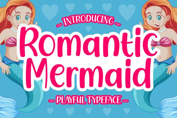 Print on Demand: Romantic Mermaid Script & Handwritten Font By Keithzo (7NTypes)