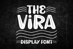 Print on Demand: The Vira Display Font By Lian-7NTypes