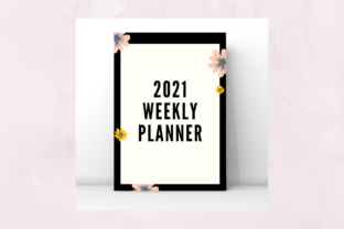 Print on Demand: Weekly Planner 2021 Design Graphic KDP Interiors By GdiDesign