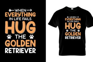 Print on Demand: When Everything in Life Falls T Shirt Graphic Print Templates By merchbundle