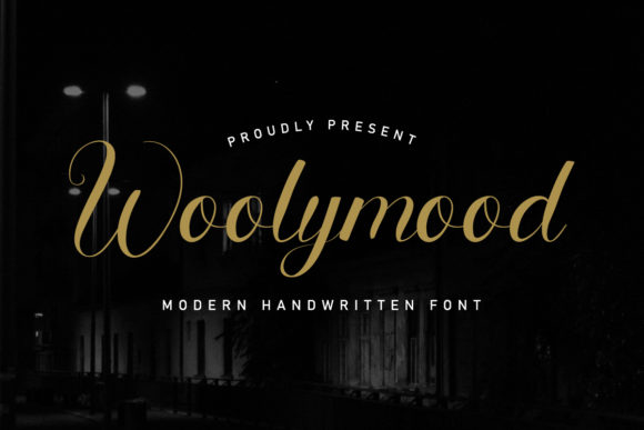 Print on Demand: Woolymood Script & Handwritten Font By EdricStudio