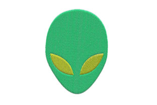 Alien Design Robots & Space Embroidery Design By SweetDesign
